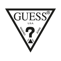 Guess Jeans clothing logo vector