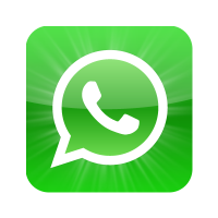 WhatsApp icon vector