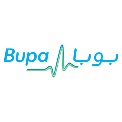 BUPA Middle East vector logo