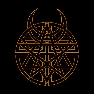 Disturbed vector logo