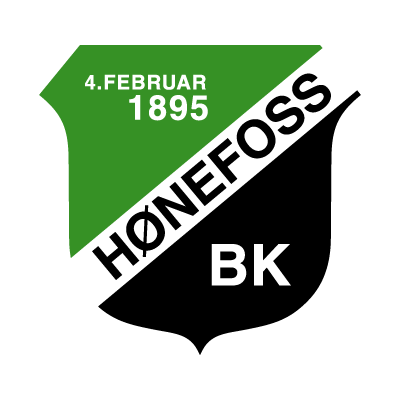 Honefoss BK vector logo