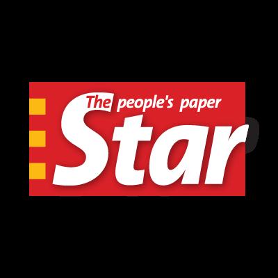 Star paper vector logo
